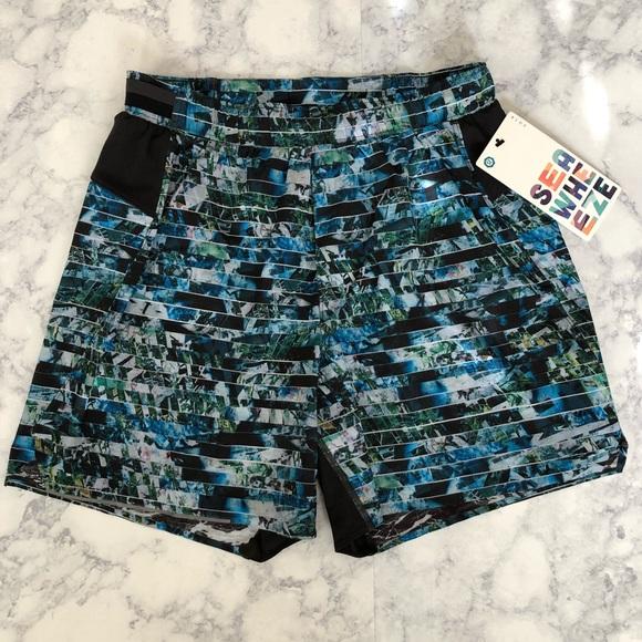 411a2d0da New LULULEMON Mens Seawheeze Run Gym Shorts M
